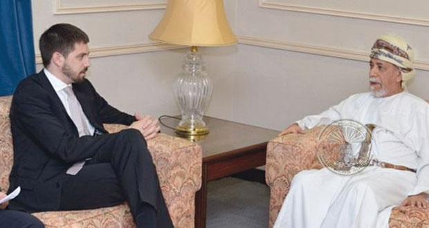 وكيل وزارة الخارجية للشؤون الدبلوماسية يستقبل نظيره المجري