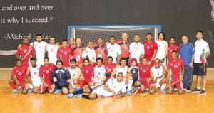 منتخبنا الوطني لهوكي الصالات يكسب الإمارات بـ13 هدفا
