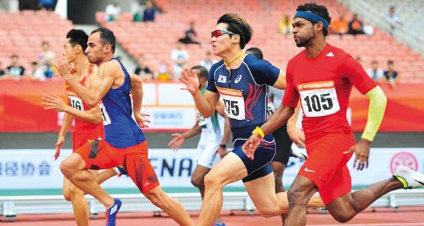 في البطولة الآسيوية لألعاب القوى