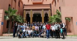 اختتام مشاركة جامعة السلطان قابوس في الرحلة الطلابية الخامسة لطلاب دول المجلس بالمغرب