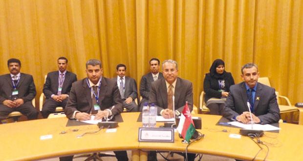 اجتماع موسع للوفود الخليجية المشاركة في مؤتمر العمل الدولي بجنيف