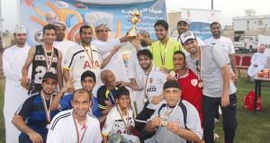 الشؤون الرياضية بشمال الباطنة تنظم يوماً رياضيًّا بنادي السلام