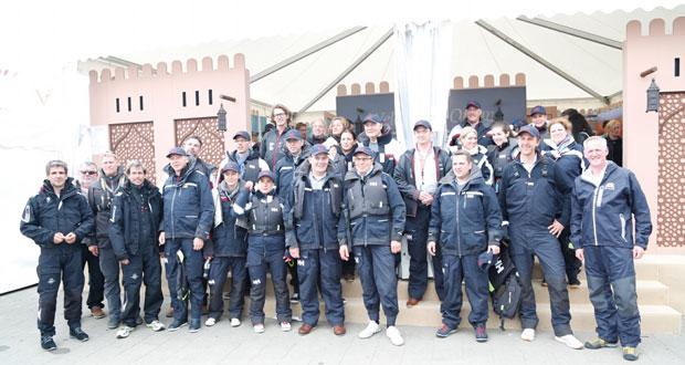 رجال أعمال وإعلاميون ألمان يشيدون بمشاركة السلطنة في مهرجان كيل للإبحار الشراعي