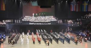 موسيقى الجيش السلطاني العماني تشارك في مهرجان التاتو السنوي بكندا