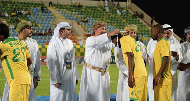 استضافة السيب لنهائي البطولة الخليجية حدث رياضي يعتز به النادي ونقدم الشكر للجماهير