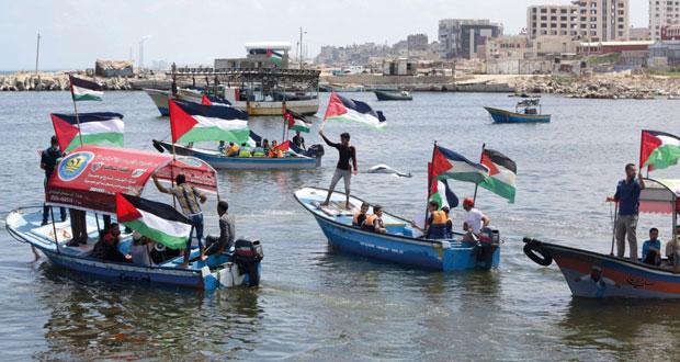 غزة توقد شعلة انطلاق أسطول الحرية 3 وتطالب بدعمها في إنهاء الحصار