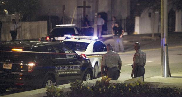 أميركا: مسلح يقتل 9 في كنيسة لأميركيين من أصل إفريقي