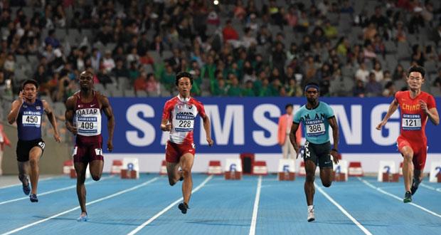 في بطولة آسيا لألعاب القوى .. اليوم منتخبنا يبدأ المشوار في سباق 100 م و400 متر