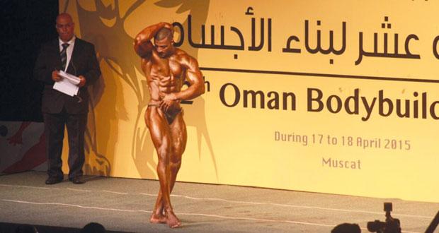 عبدالله الهاشمي لاعب بناء الأجسام مفخرة لبنك بيروت