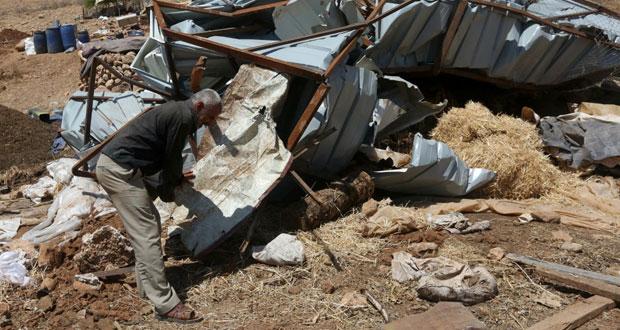طائرات الاحتلال تغير على غزة وحملة اعتقالات مسعورة بالضفة والداخل المحتلتين