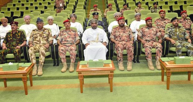 وزير النقل والاتصالات يرعى اختتام كلية الدفاع الوطني التمرين الاستراتيجي (صنع القرار2)