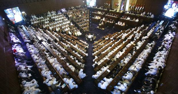 السودان: (مكافحة الفساد) و(العفو) أبرز وعود البشير خلال مراسم تنصيبه رئيسا لولاية جديدة