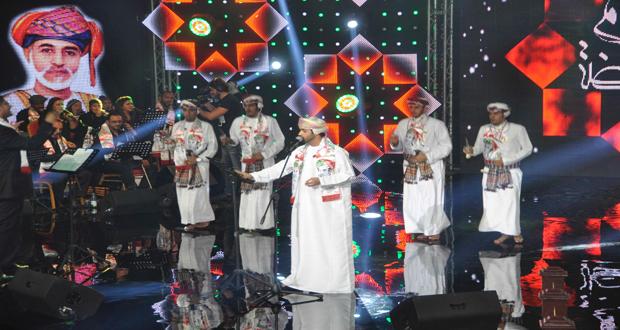 نجوم وشعراء يتغنون في حب عمان بمناسبة ذكرى يوم النهضة المباركة