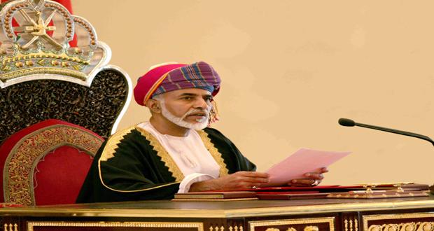 جلالة السلطان يهنئ رئيسي المالديف وتونس