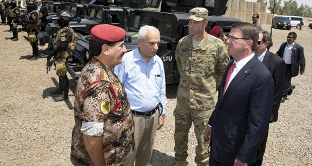 العراق: كارتر يبحث مع البرزاني دور البشمرجة في الحرب على داعش