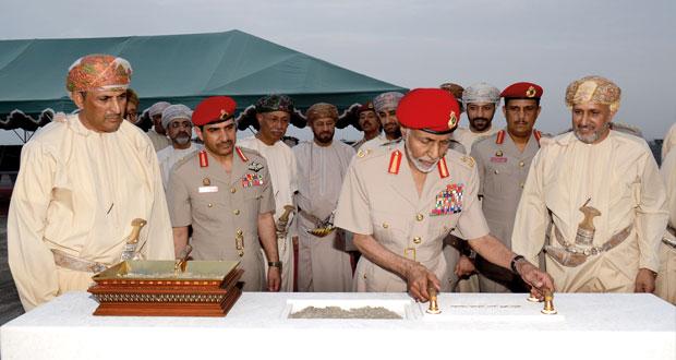 جلالة السلطان يضع حجر الأساس لـ (متحف عمان عبر الزمان)