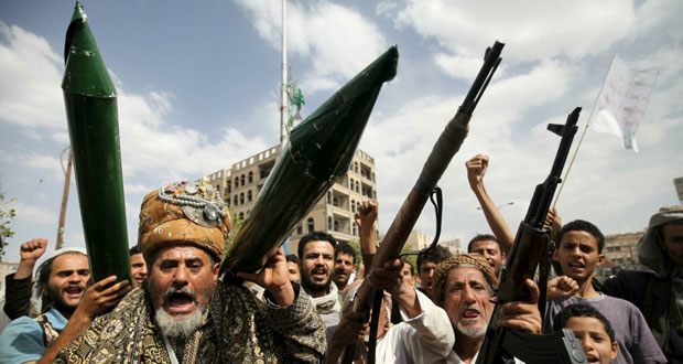 اليمن: قصف مقر حزب المؤتمر الشعبي وشروط عربية لتنفيذ (2216)
