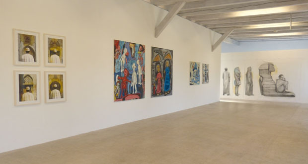 حسن مير يشارك بالمعرض الفني الأول للفنانين العرب والإيرانيين في متحف زيورخ بسويسرا