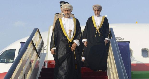 بعد أن قدم تعازي جلالة السلطان في وفاة سعود الفيصل … هيثم بن طارق يعود إلى البلاد