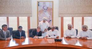 توقيع اتفاقية المرحلة الأولى من مشروع توسعة نظام الإنذار المبكر لرصد الإشعاع في السلطنة