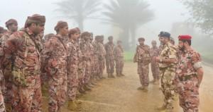 التوجيه المعنوي ينظم زيارات لعدد من المعسكرات والمواقع الحدودية