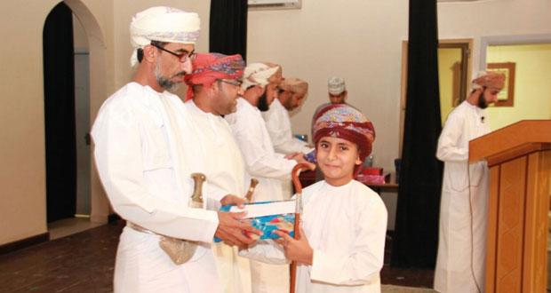 التوبي يرعى ختام مسابقة حفظ القرآن الكريم ببركة الموز