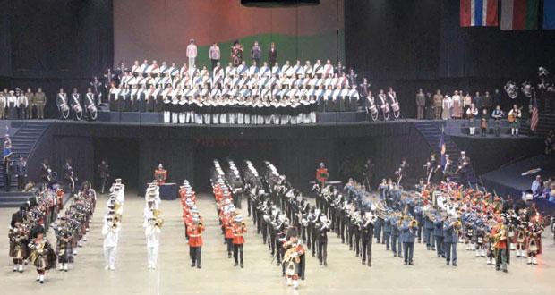 موسيقى الجيش السلطاني العماني تختتم مشاركتها في مهرجان تاتو سكوتيا نوفا بكندا