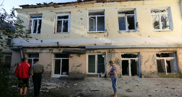 أوكرانيا: 3 قتلى باشتباكات في (الشرق) والقصف يطول مستشفى