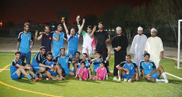 في البطولة الإعلامية الكروية الخامسة اليوم .. فريق (الوطن) الكروي يلاقي فريق إذاعة عمان وعينه على النهائي
