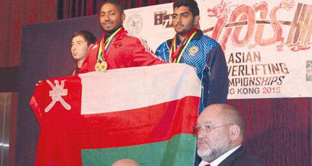 منتخب الناشئين يحقق المركز الأول في البطولة الآسيوية للقوة البدنية بهونج كونج