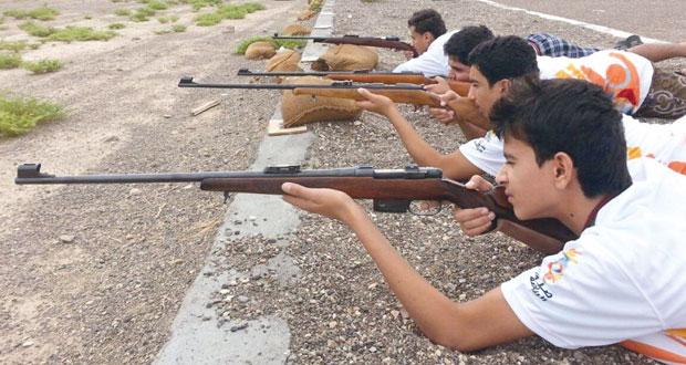 نادي المضيبي يشارك في برنامج صيف الرياضة بالرماية التقليدية