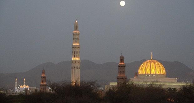 قمر منتصف شهر رمضان
