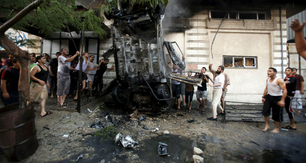 الإرهاب يضرب غزة بـ 5 تفجيرات تستهدف حماس والجهاد