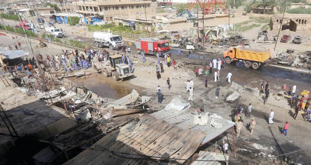 العراق: الجيش يتقدم في الأنبار وارتفاع ضحايا تفجير ديالي لـ 120