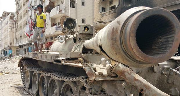 اليمن: أنصار هادي يتقدمون في تعز والحوطة وأبين