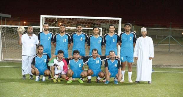 فريق (الوطن) يواجه الزمن في نهائى البطولة الإعلامية الخامسة في كرة القدم