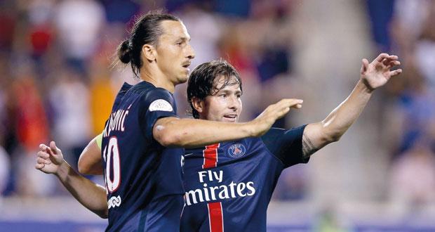 باريس سان جيرمان يهزم فيورنتينا في الكأس الدولية