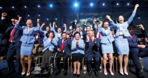 احتفالات منظمة في بكين بعد حصولها على الألعاب الأولمبية الشتوية لعام 2022