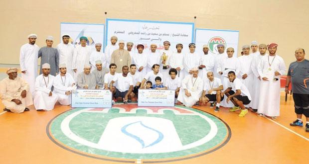 عمان تل بطلا لخماسيات القدم والقوى العاملة للطائرة الشاطئية والطليعة للطائرة النسائية وفهد الفارسي للشطرنج