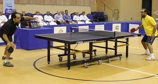 تواصل الاستعدادات لانطلاق بطولة الخريف الأولى لكرة الطاولة بصلالة