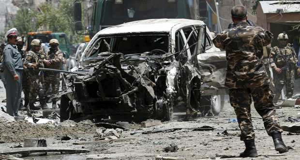أفغانستان: هجوم على قوات الحلف الأطلسي في كابول