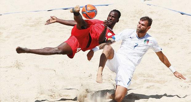 اليوم .. في مونديال البرتغال .. منتخبنا الوطني للقدم الشاطئية يختتم مشواره بلقاء كوستاريكا