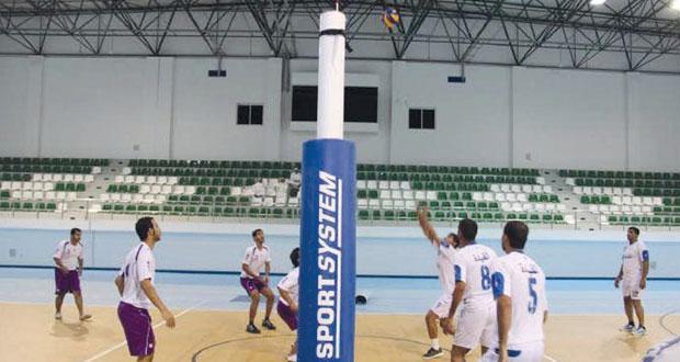منافسات قوية ومثيرة في مباريات شجع فريقك لكرة القدم والطائرة بمحافظة البريمي