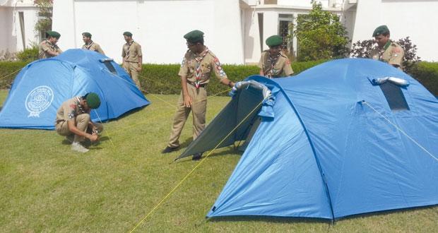 ختام مخيم إعداد كشافة السلطنة المشاركين في المخيم الكشفي العالمي باليابان