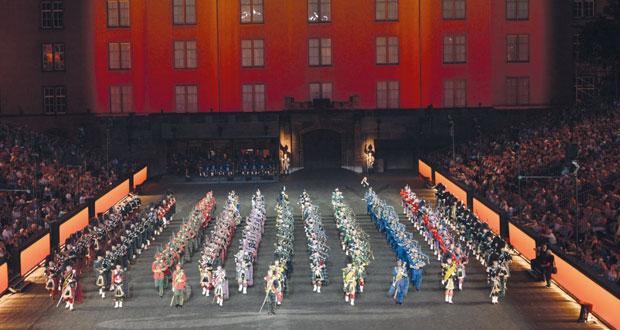 موسيقى الجيش السلطاني العماني تشارك في مهرجان تاتو بازل للموسيقى بسويسرا
