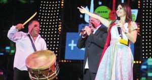 """ديانا حداد تسدل الستار على حفلات مهرجان """"تيميتار"""" في أغادير بحضور 120 ألفا من الجمهور"""