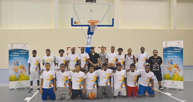 """وزارة الشؤون الرياضية تختتم المرحلة الأولى من """"صيف الرياضة"""""""