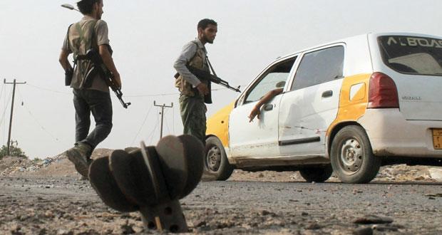 اليمن: عشرات القنلى مع احتدام المعارك بين أنصار هادي والحوثيين
