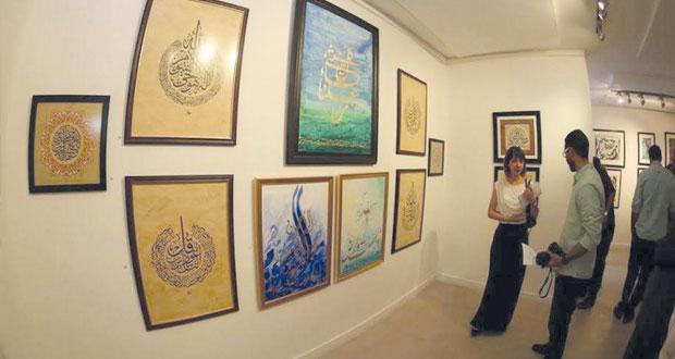 نصار منصور يستعرض تاريخ الخطّ العربي وجمالياته بعمَّان