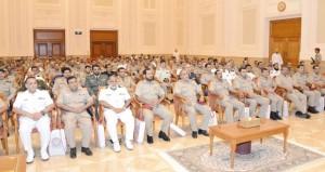 محاضرة عن مجلس الدولة لمنتسبي كلية القيادة والأركان بالدورة (28)